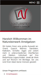 Mobile Preview of natur-stein-werk.de